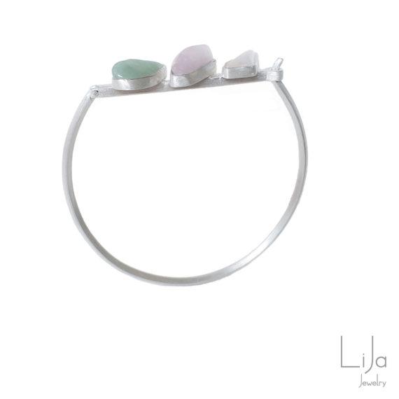 Goudsmid LiJa Jewelry armband edelstenen quartz 2