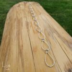 Goudsmid Lija Jewelry Collier Zilver Geelgouden Schakel Abstract