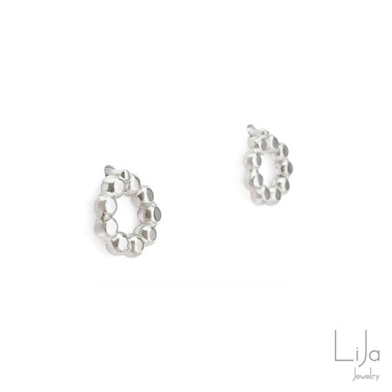 Goudsmid Lija Jewelry Rondjes Oorbellen Zilver