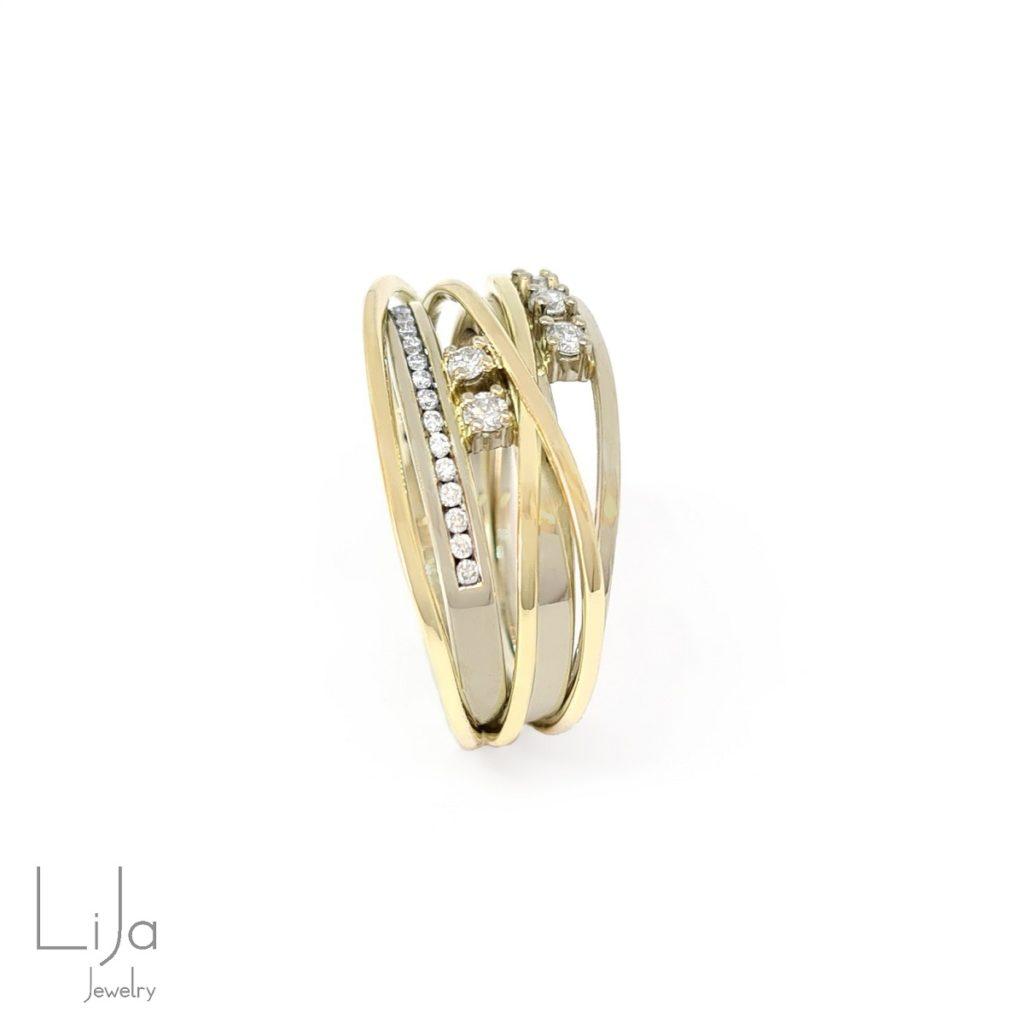lija jewelry goudsmid witgoud geelgoud diamanten maatwerk